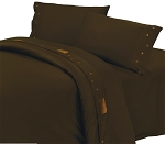 Luxurious Rustic Bedding Western Coffee Bear Sheet Set
