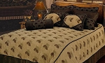 Pine Cones Luxurious Western Comforter Bedding Set