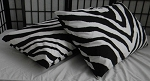 Zebra Pillowcases Set Of 2 Choose Your Size