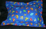 Dinosaur Bedding Full Size Pillow Sham with Flange