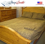 Leopard Print Antique Size Sheet Sets