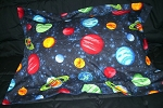 Planet Bedding Full Size Pillow Sham with Flange