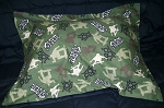Camo Skateboard Bedding Full Size Pillow Sham with Flange