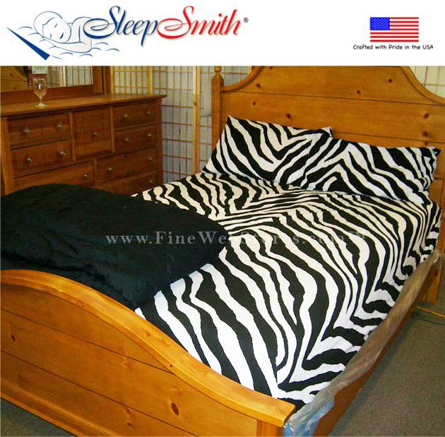zebra print twin size extra deep pocket sheet sets