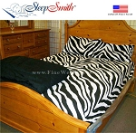Zebra Print Twin Size Sheet Sets