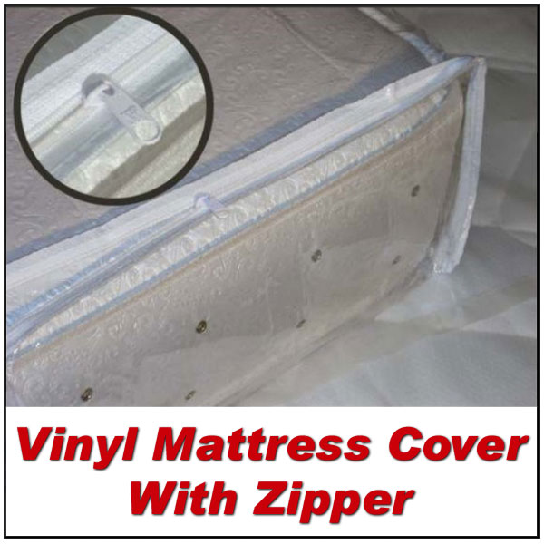 california king plastic cover for mattress with zipper