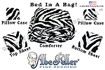 Zebra Print Bed In A Bag Twin Size