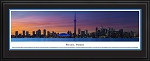 Toronto, Canada Deluxe Framed Skyline Picture 3