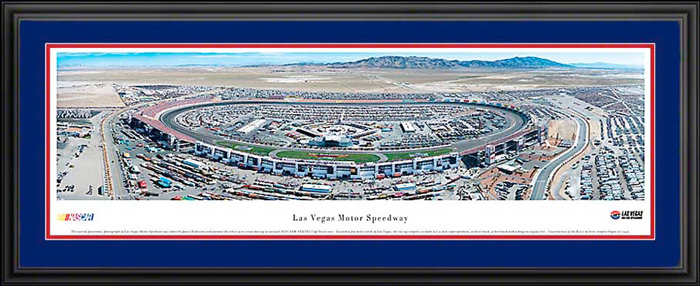 Las Vegas Motor Speedway Deluxe Framed Picture