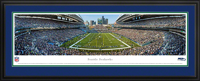 Seattle Seahawks Deluxe Framed Picture
