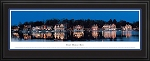 Philadelphia, Pennsylvania, Boat House Row Deluxe Framed Skyline Picture 2