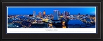 Columbus,Ohio Deluxe Framed Skyline Picture 2