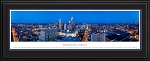 Indianapolis, Indiana Deluxe Framed Skyline Picture 3