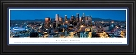 Los Angeles, California Deluxe Framed Skyline Picture 4
