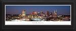 Nashville, Tennessee Deluxe Framed Skyline Picture