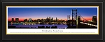 Philadelphia, Pennsylvania Deluxe Framed Skyline Picture 3