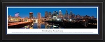 Philadelphia, Pennsylvania Deluxe Framed Skyline Picture 4