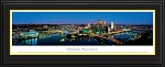 Pittsburgh, Pennsylvania Deluxe Framed Skyline Picture 1