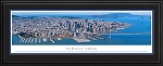 San Francisco, California Deluxe Framed Skyline Picture 6