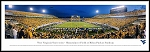West Virginia University Framed Milan Puskar Stadium Picture