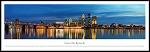 Louisville, Kentucky Framed Skyline Picture 3