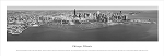 Chicago, Illinois Black and White Panoramic Picture 8