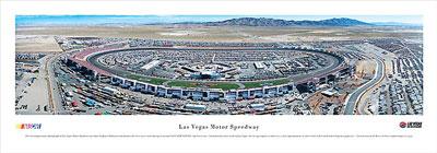 Las Vegas Motor Speedway Skyline Panoramic 2
