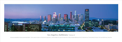 Los Angeles, California Panoramic Picture 2b