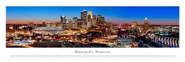 Minneapolis Minnesota Panoramic Picture 7