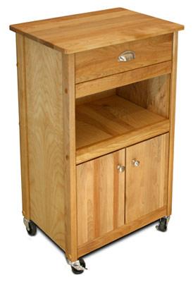 open storage cuisine butcher block kitchen island cart. Black Bedroom Furniture Sets. Home Design Ideas