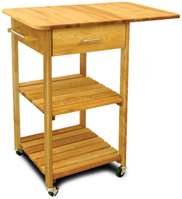 single drop leaf butcher block kitchen island cart. Black Bedroom Furniture Sets. Home Design Ideas