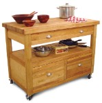 Grand Americana Butcher Block Kitchen Island