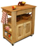 Heart-Of-The-Kitchen Butcher Block Kitchen Island