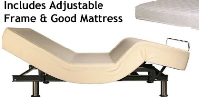 Twin XL Adjustable Bed AND Largo Adjustable Bed Mattress