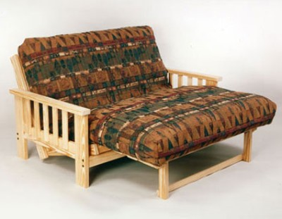 grand teton full size lounger futon frame