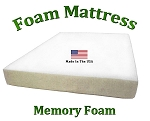 "Twin Memory Mattress 8"" Total Thickness"