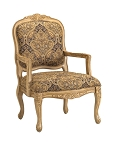 Livingston Accent Chair with French Provincial Styling