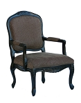 Elba Accent Chair with French Provincial Styling