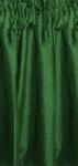 Hunter Green Cafe Curtains