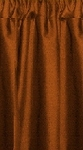 Rust Cafe Curtains