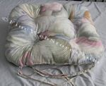 Purple Shell Beach Decor Chair Cushion