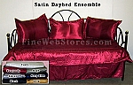 Satin Daybed Cover Set