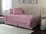 Solid Pink Daybed Cover Set