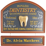 Personalized Dentistry Custom Wood Sign