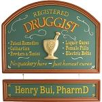Personalized Druggist Custom Wood Sign