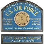 Personalized U.S. Air Force Custom Wood Sign