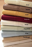 California King Size 300 Thread Count Egyptian Cotton Sheets Solid Color