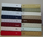 California King Size 300 Thread Count Egyptian Cotton Sheets Striped