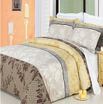 Cypress Full/Queen 4 Piece 300 Thread Count Egyptian Cotton Comforter Set