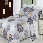 Fifi King/California King 4 Piece 300 Thread Count Egyptian Cotton Comforter Set